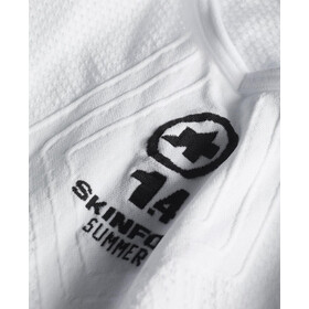 assos SS.skinFoil_Summer_Evo7 Base Layer Unisex holyWhite